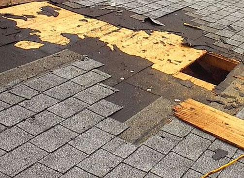 Roof Decking Work