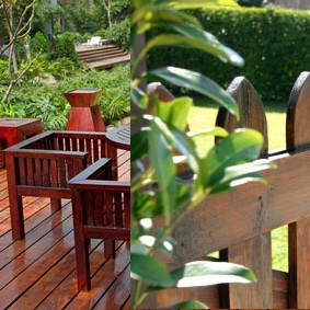 Deck & fence staining